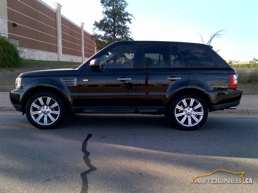 2008 Land Rover Range Rover Supercharged Suv Crossover